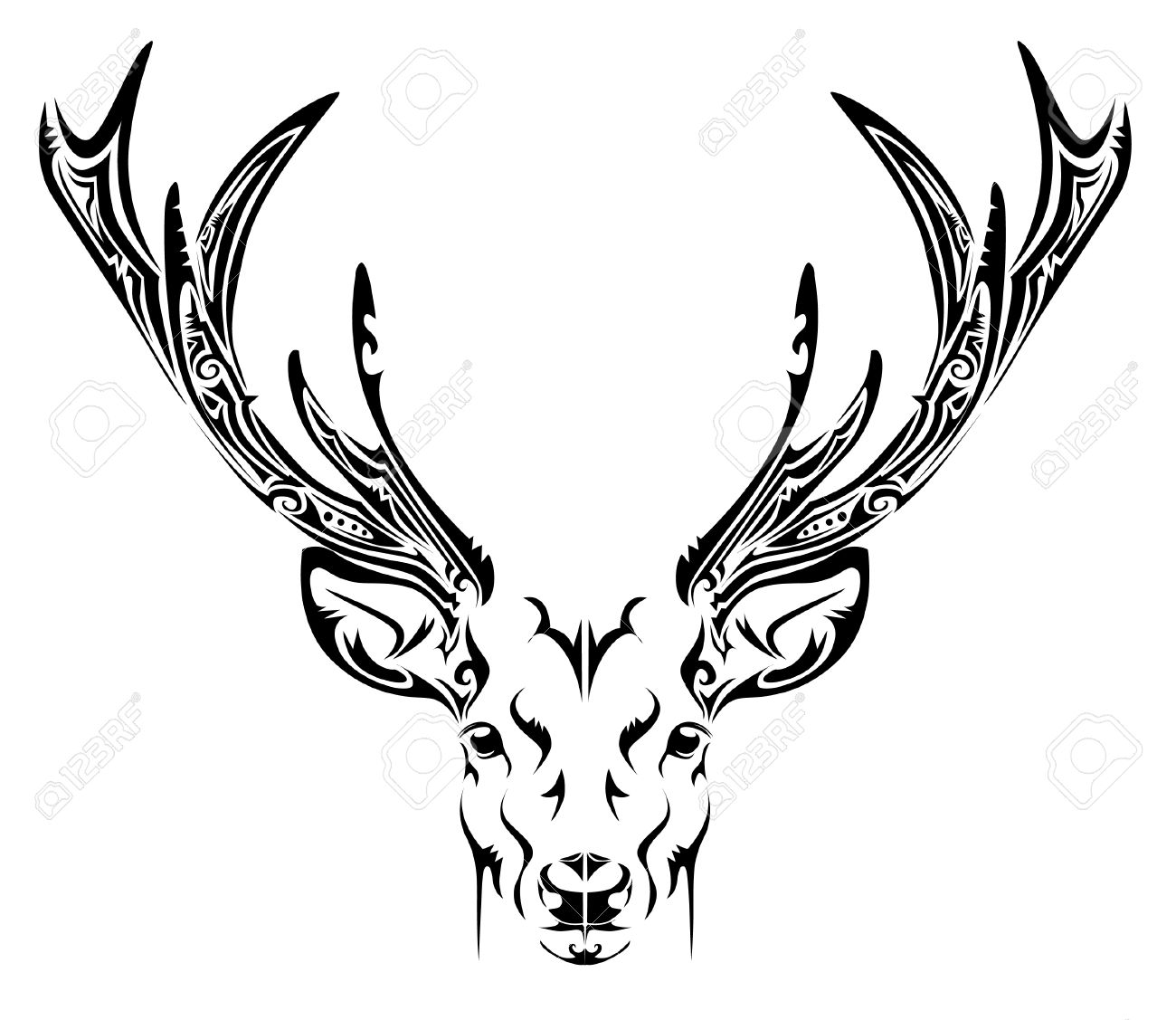 1300x1127 Deer Christmas Deer, File Format And Filing