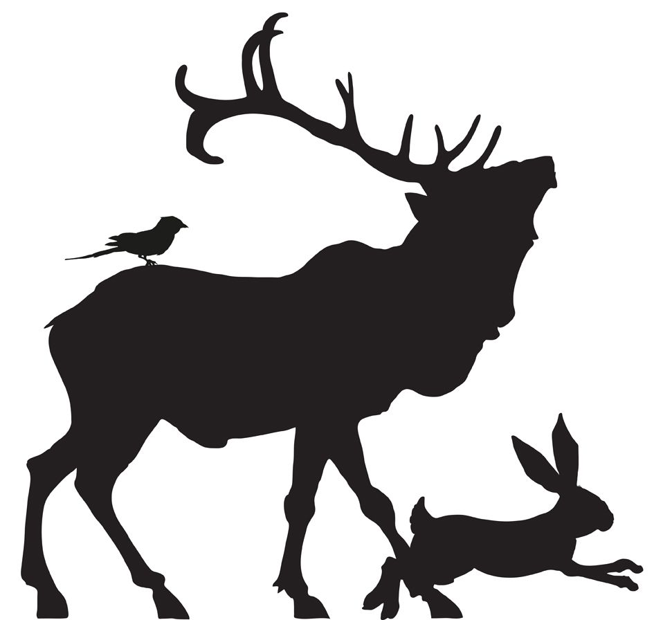 945x896 Images For gt Stag Silhouette Png images Pinterest London
