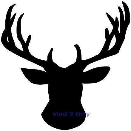 439x439 Deer Head