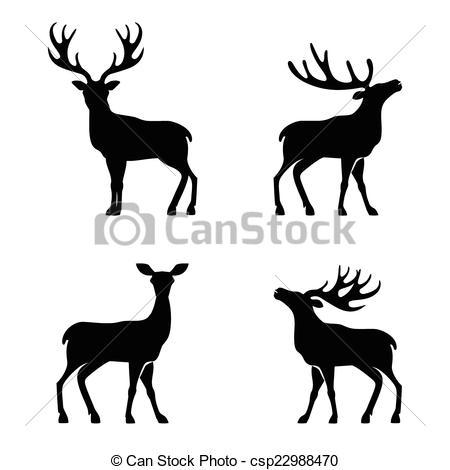 450x470 Deer collection