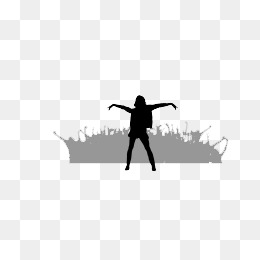 260x260 Silhouette Crowd Png Images Vectors And Psd Files Free