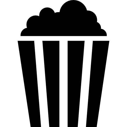 512x512 popcorn, Salty, cinema, food, corn, Movies icon