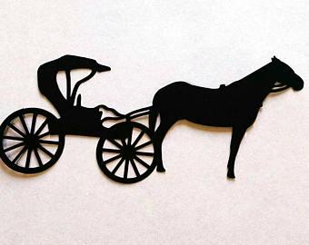 340x270 Horse Cart Etsy