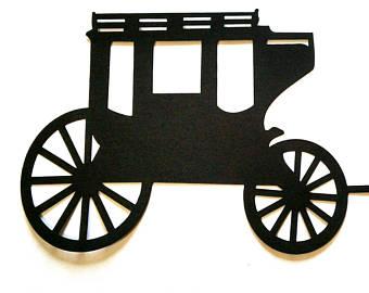 340x270 Stagecoach Art Etsy