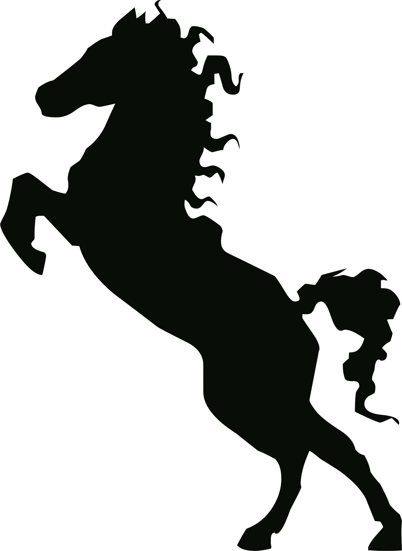 1689x2316 Stallion Silhouette Icons Png