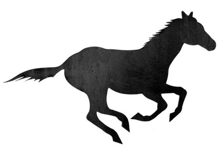 700x500 Stallion Silhouette