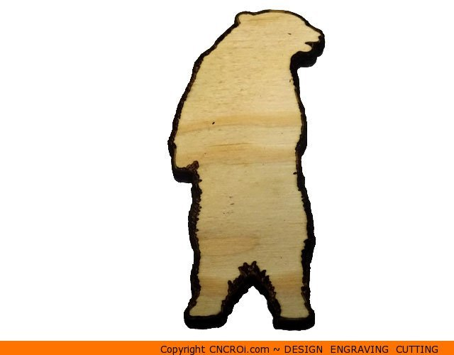 640x500 Bear Grizzly Shape (0002)