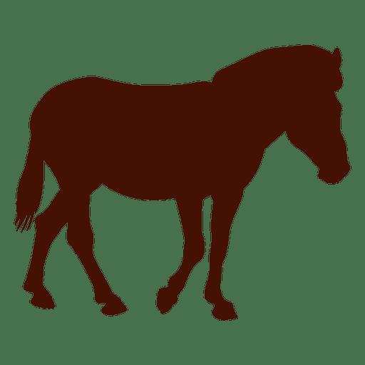 512x512 Horse Standing Farm Silhouette