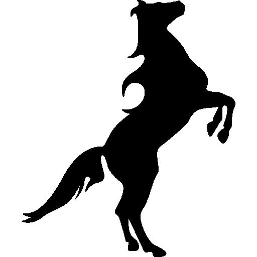 512x512 Standing Horse, Horses, Animals, Horse Silhouette, Horse, Horse