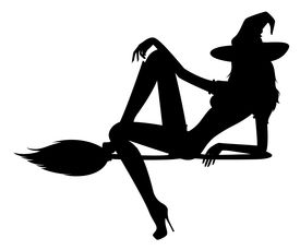 275x229 Silhouette Of Witch Image