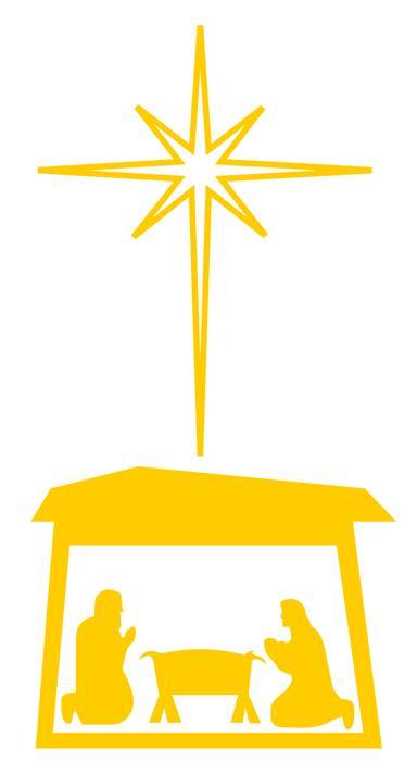 Star Of Bethlehem Silhouette at GetDrawings   Free download