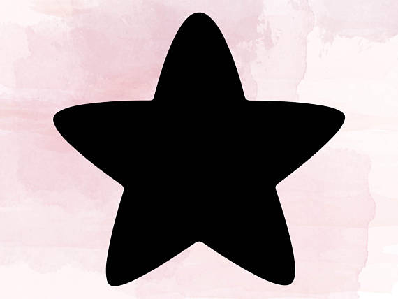 570x428 Star Svg, Star Clipart, Star Cut Files, Svg Files For Silhouette