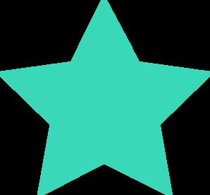 298x276 Star Silhouette Clipart