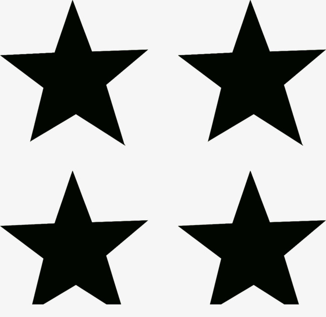 650x632 Black Pentacle Silhouette Material, Black, Five Pointed Star