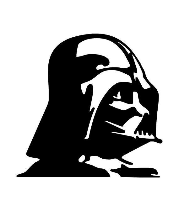 570x673 Star Wars Darth Vader Design Stencil Macbook New Vinyl By Labzosos