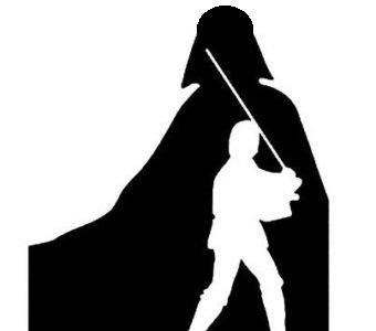 340x300 Star Wars Vader Amp Luke Skywalker Father Son Matte