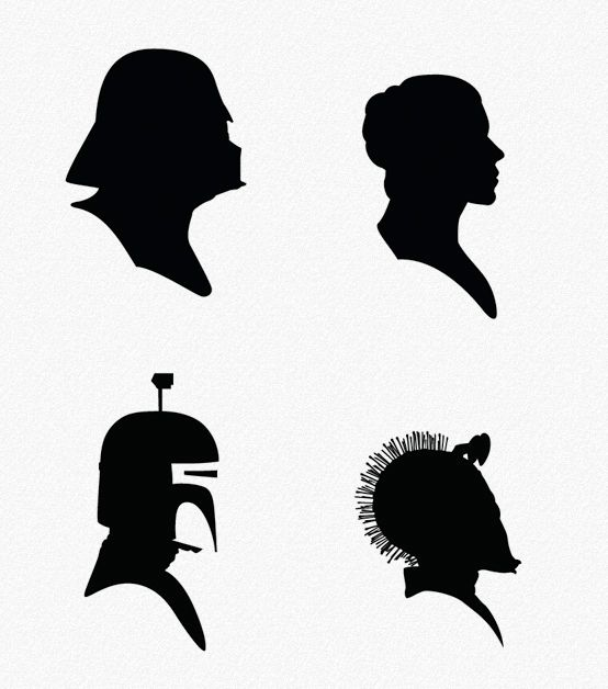 Star Wars Silhouette Art