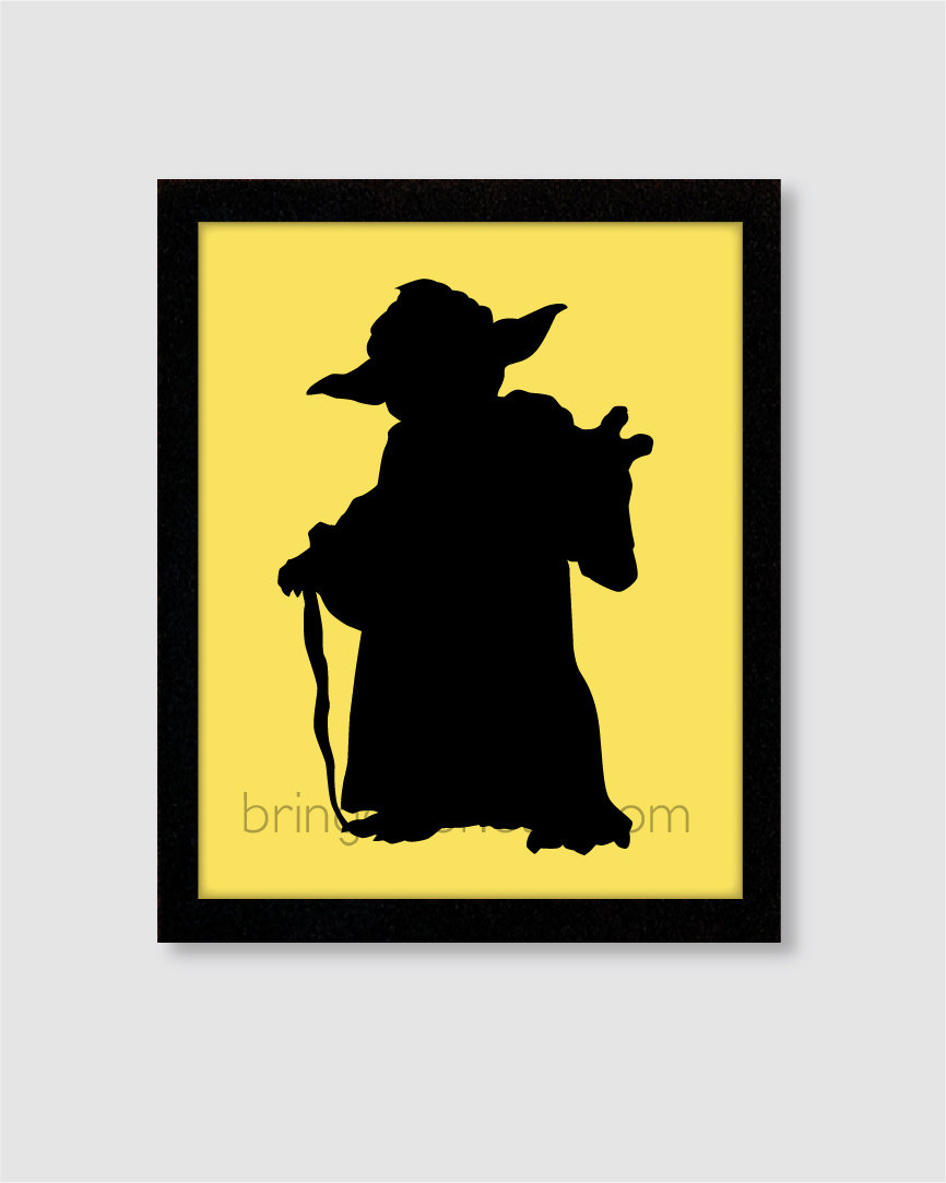 Star Wars Silhouette Art at GetDrawings.com | Free for personal use ...