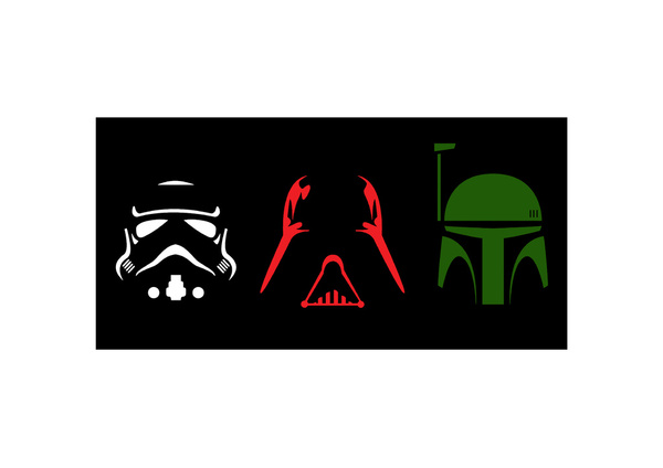 600x424 Star Wars Silhouette