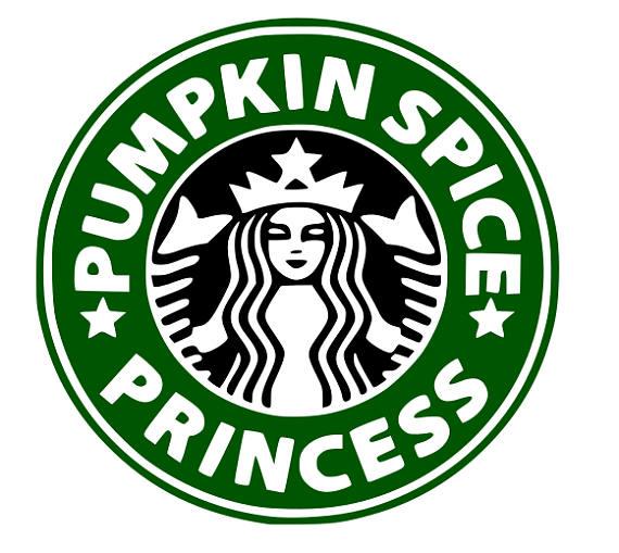 570x509 Svg, Pumpkin Spice Princess, Starbucks Logo, Wedding Starbucks