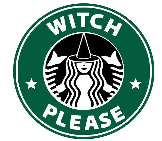 570x497 Svg Witch Please Starbucks Logo Halloween Starbucks Svg