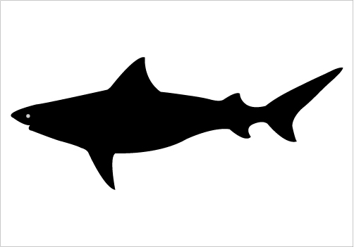 502x351 Posted In Fish Silhouette Clipart Panda