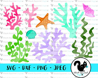 340x270 Seaweed Svg Cut File Etsy