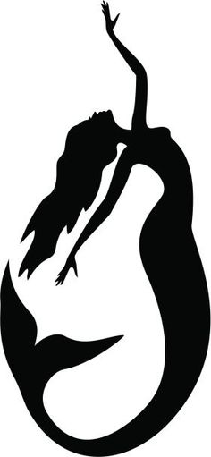 236x511 Simple Mermaid Silouttees