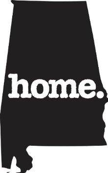 221x355 Buy Home Alabama State Design Vinyl Car Sticker Symbol Silhouette