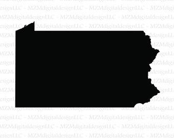340x270 Pennsylvania Svg Etsy