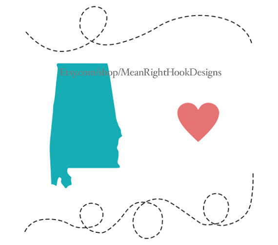 570x502 Alabama Svg State Svg Silhouette Heart Svg And Dotted Line