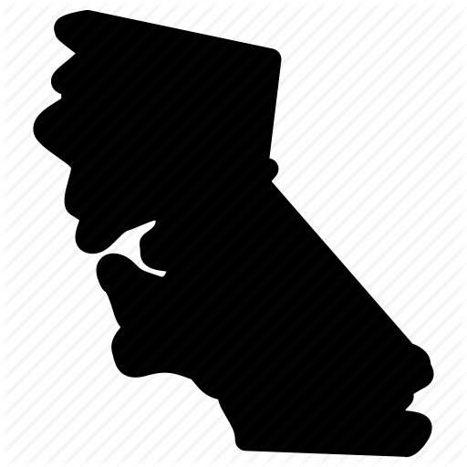 512x512 Ca Map, Ca State, California, California Map, Map Icon Icon