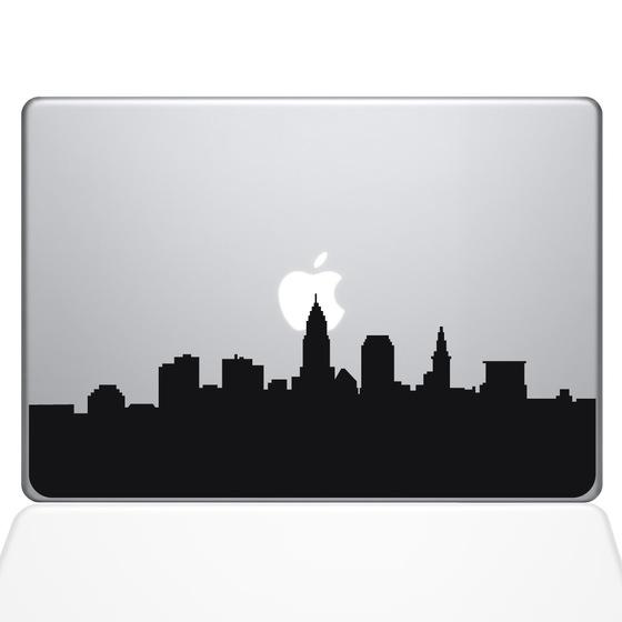 560x560 Cleveland Skyline City Macbook Decal The Decal Guru