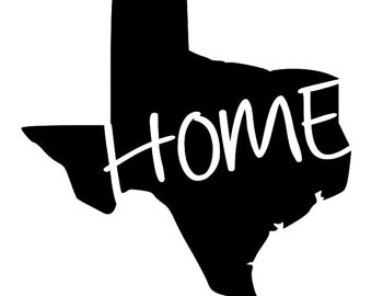 340x270 Texas Home State Outline Design, Svg, Eps, Dxf Formats, Silhouette