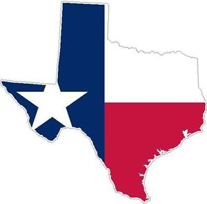 300x295 Texas State Flag Vinyl Sticker Decal Tx Outline Silhouette