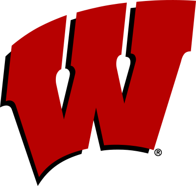 400x380 Wisconsin W Description University Of Wisconsin Waving W.svg