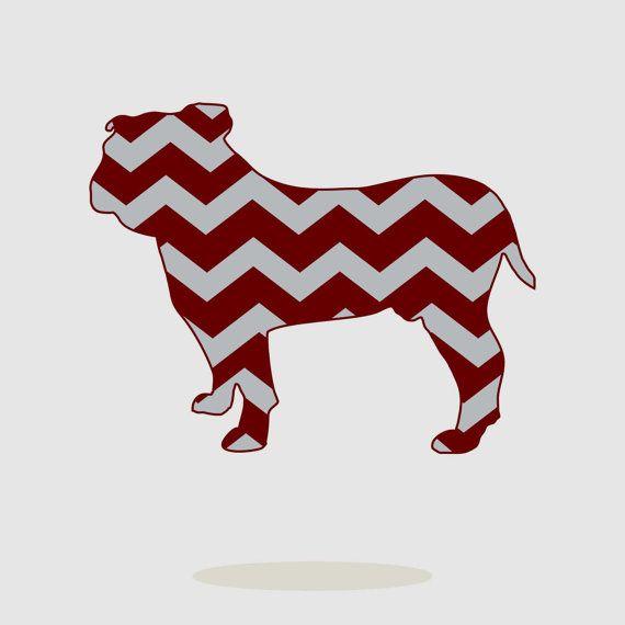 570x570 Mississippi State, Bulldogs, Chevron, Pattern, Eps, Svg, Dxf