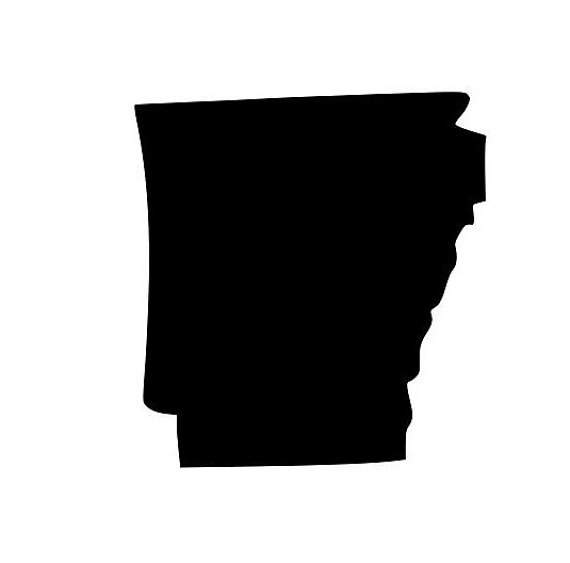 570x563 State Of Arkansas Ar Outline Svg Digital Download Cuttable Files