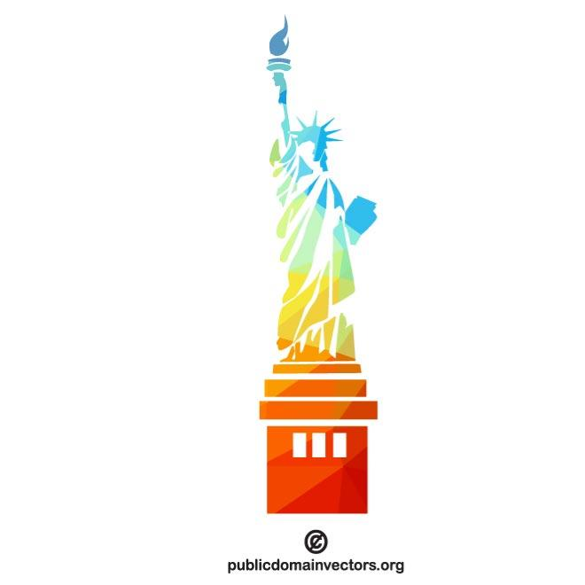 660x660 Statue Of Liberty Silhouette Vector