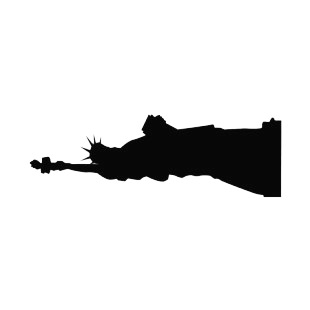 310x310 United States Statue Of Liberty Silhouette Symbols And History