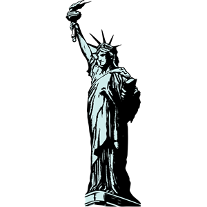 300x300 42 Free Statue Of Liberty Clipart