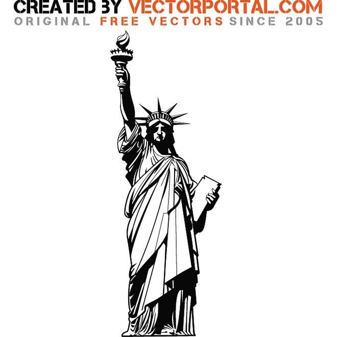 660x660 Statue Of Liberty Vector Graphics