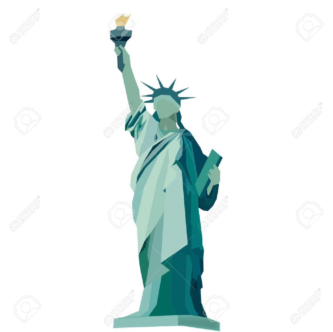 1300x1298 Statue Of Liberty Vector Stock Art More Images Adult Fancy