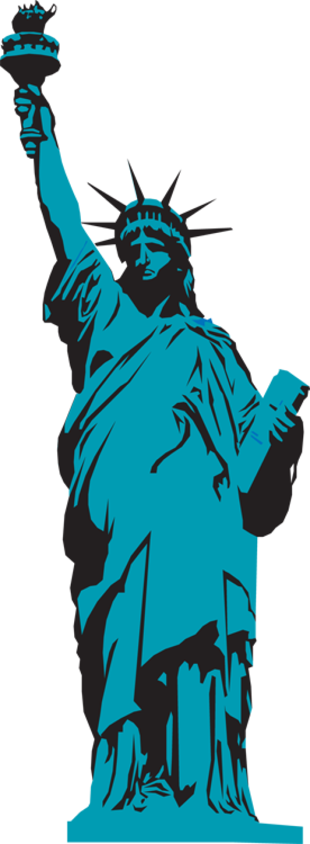 640x1739 42 Free Statue Of Liberty Clipart