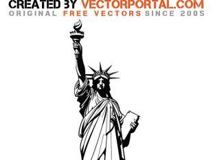 310x233 Statue Of Liberty Graphics Free Vector Free Vectors Ui Download