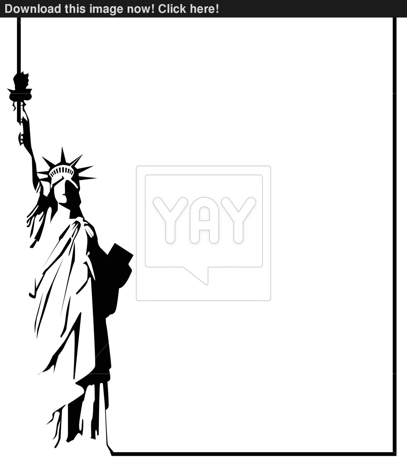 1397x1600 The Vector Statue Of Liberty Eps 8 Vector