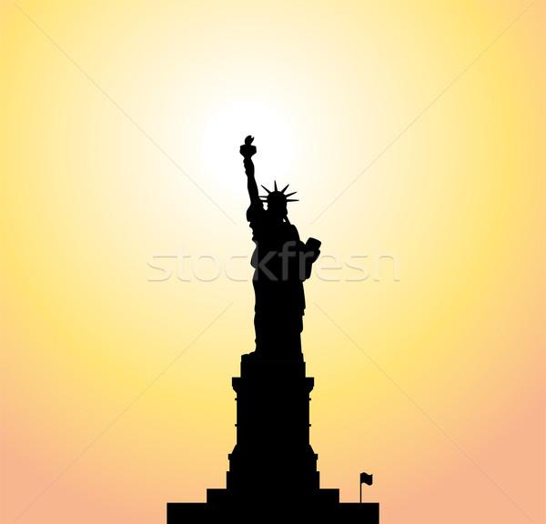 600x576 Statue Of Liberty Stock Vectors, Illustrations And Cliparts