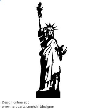 335x355 Of Liberty Vector Clipart