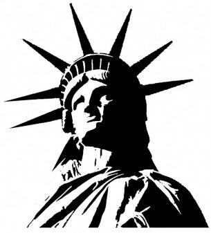 305x337 Lady Liberty Clip Art
