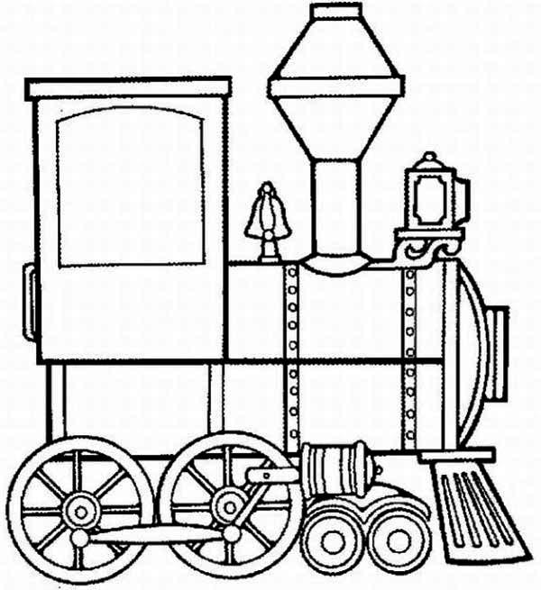 600x655 Steam Clipart Rail Engine